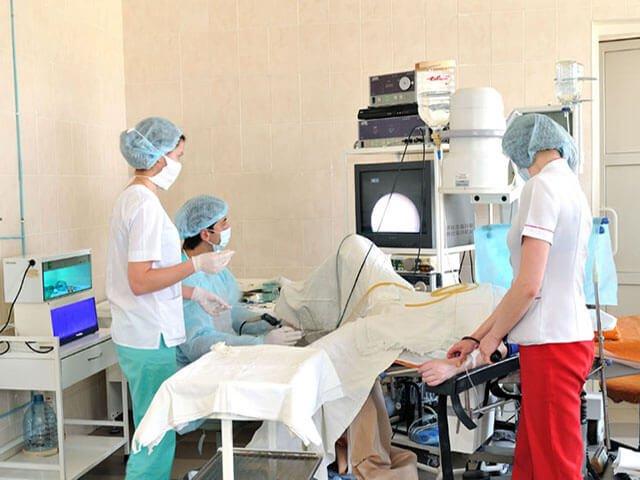 Исследование в больнице
