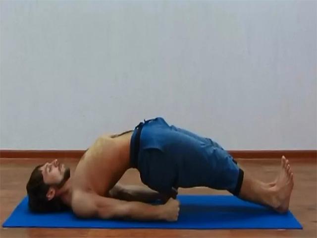 Упражнение для укрепления таза